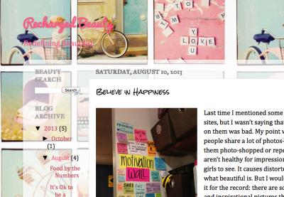 Rechared Beauty Blog