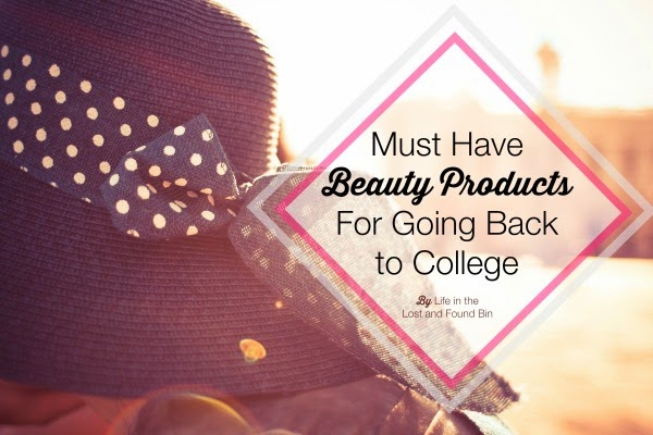 Must Have Beauty Products for Going Back to College
