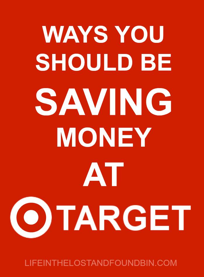 Ways you should be saving money at Target